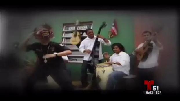 El bombero rapero de Puerto Rico