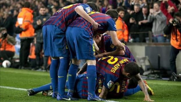 Galería: El Barcelona reacciona a tiempo