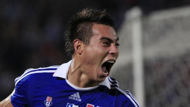 Galería: Chileno Vargas realiza su primer entrenamiento con el Napoli