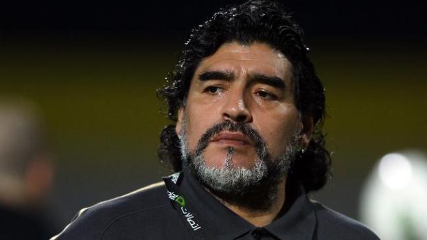 Galería: Maradona expresa deseo de dirigir a Emiratos Arabes Unidos