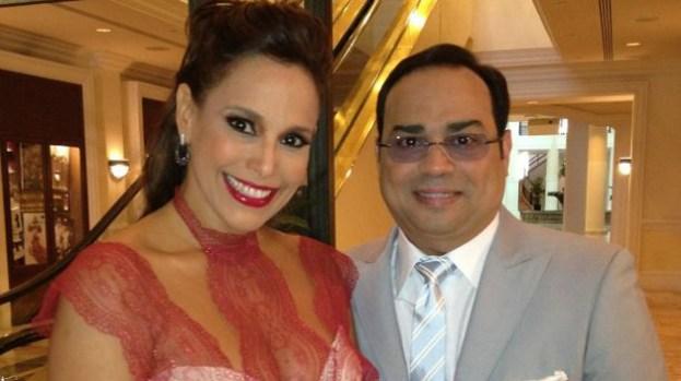 Galería: ¡Se compromete Gilberto Santa Rosa!
