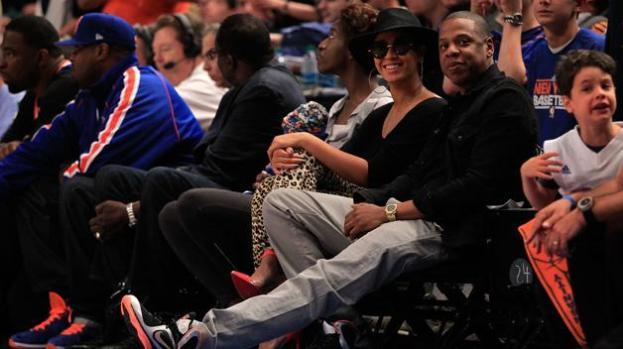 Galería: Beyoncé: Let's Go Knicks!