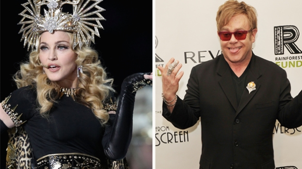 Galería: Elton John destroza a Madonna