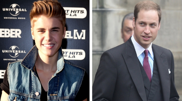 Galería: Justin Bieber se burla del príncipe