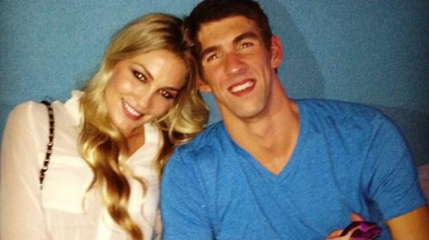 Galería: Mesera la nueva conquista de Phelps
