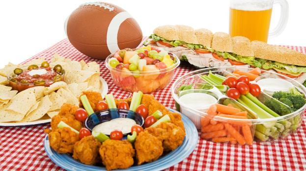 Galería: Una fiesta de Super Bowl saludable