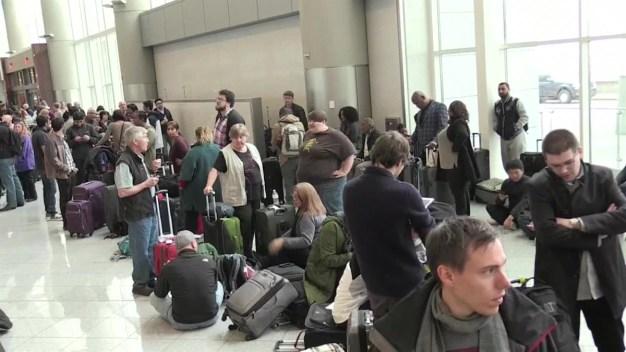 Aeropuerto Atlanta falla eléctrica