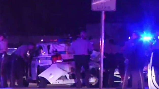 Accidentado policía tras ser embestido por conductor