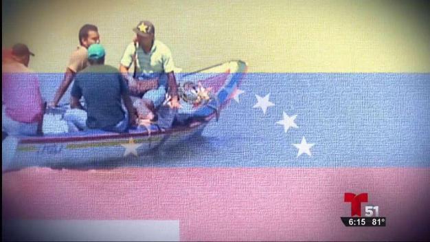 Balseros venezolanos Primera Parte