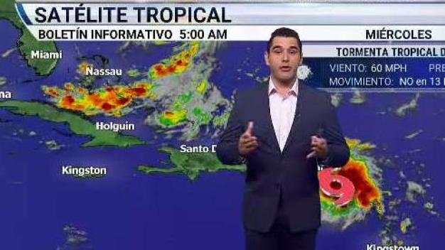 Boletín miércoles 5am tormenta tropical Dorian