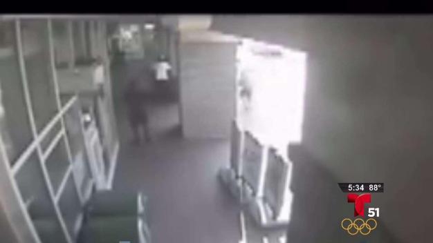 Brutal ataque contra anciana en supermercado
