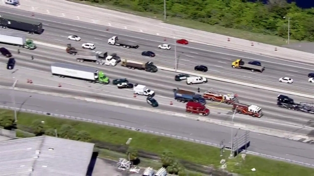 Reabren carriles en la I-95 en Broward