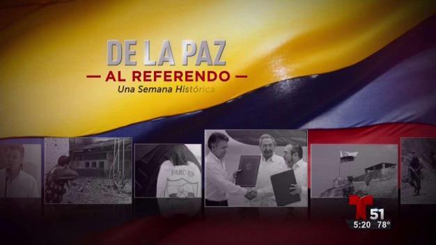 De la paz al referendo: firman la paz en Colombia
