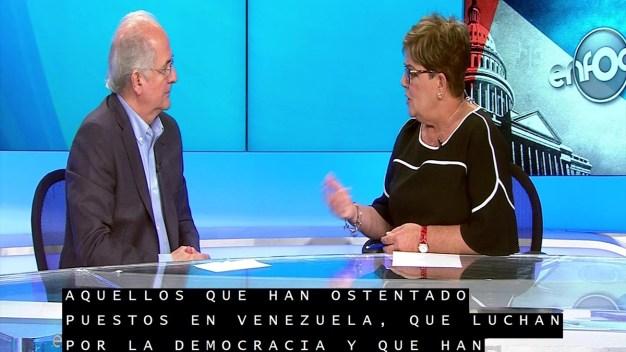 Enfoque Político: Antonio Ledezma}