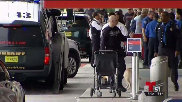Entrenamiento antiterrorista en Aeropuerto de Fort Lauderdale