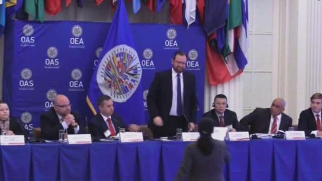 Exiliados cubanos hacen contundente denuncia en la OEA