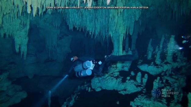 Sitio arqueológico bajo el agua: elmás grande del mundo