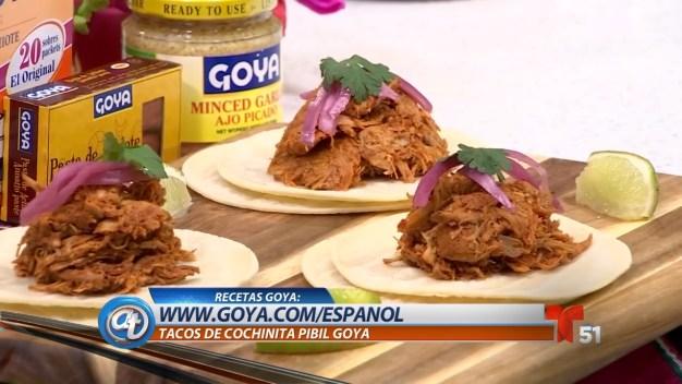 Nuestros Sabores: Tacos de Cochinita Pibil}