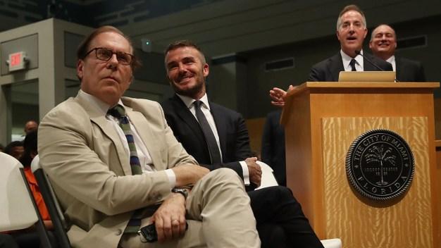 Desestiman demanda contra estadio de Beckham en Miami