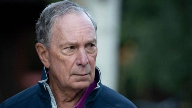 Bloomberg se registra como candidato en Arkansas
