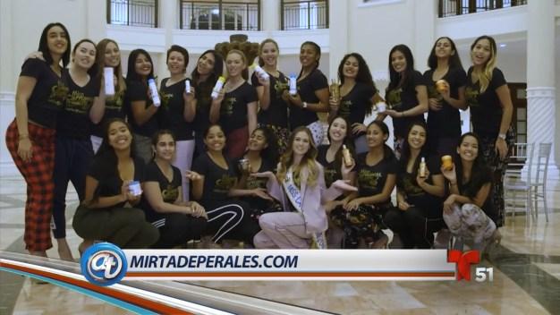 Mirta de Perales presenta Miss Carnaval Miami 2018
