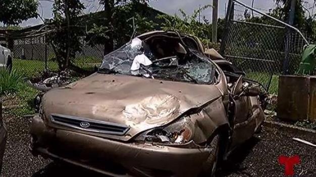 Un misterio el hallazgo de cuerpo en auto en Naguabo