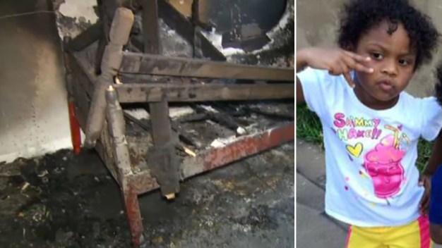 Muere niña en incendio dentro de apartamento
