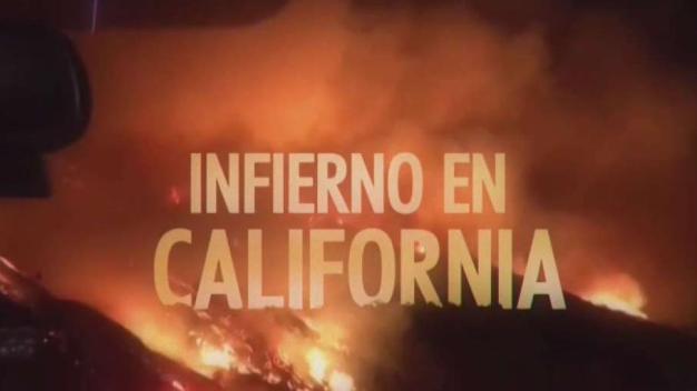 Pérdidas millonarias por incendios en el sur de California