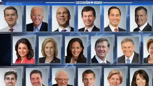 Preparativos para debate demócrata