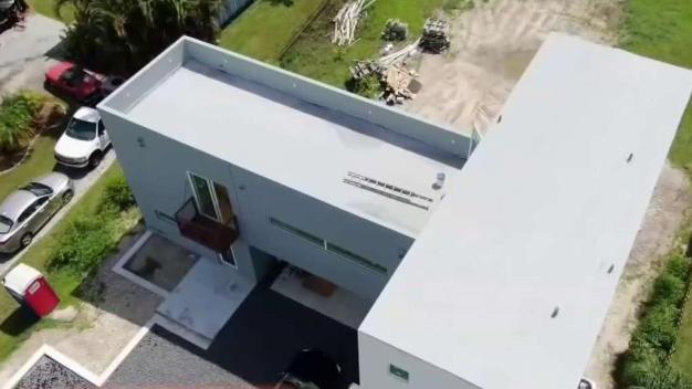 Primera casa contenedor de Florida