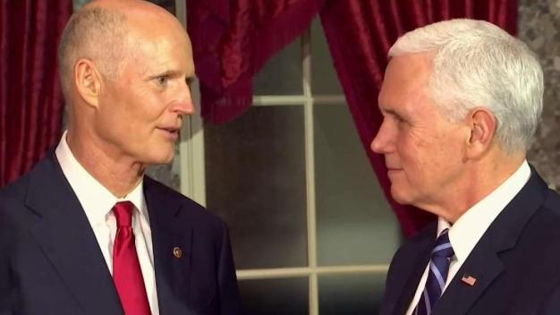 Rick Scott asume su cargo como senador de la Florida