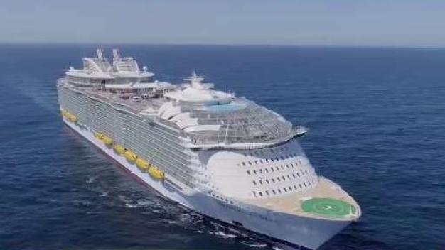 Sale de Miami el crucero más grande del mundo