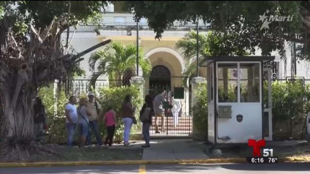 Se dificultan los trámites en embajada de Colombia en Cuba