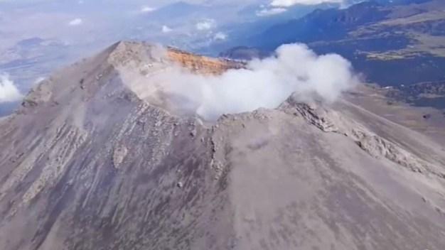 Conoce desde donde vigilan al volcán Popocatépetl