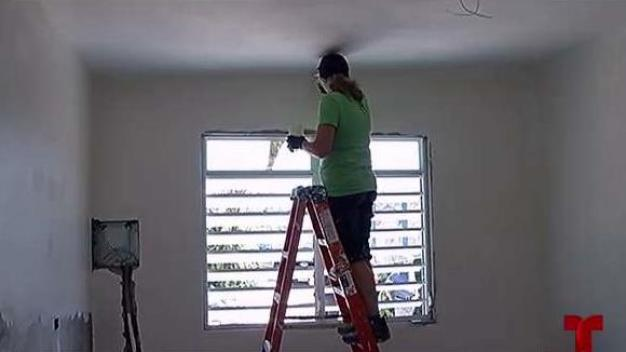¡Gracias! Fundación trae voluntarios para reconstruir casas en Loíza