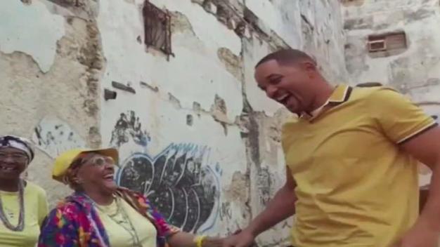 Will Smith hace rap con abuelas cubanas