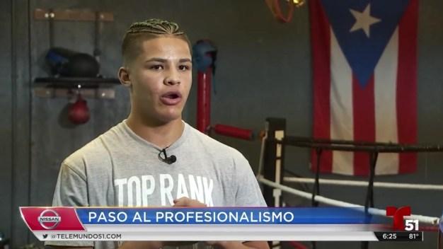 Xander Zayas: joven boxeador boricua