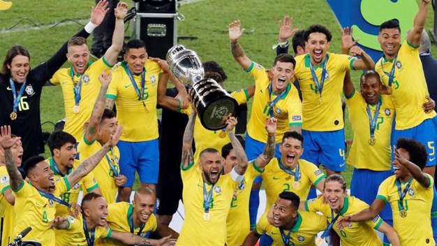 Copa América: Brasil le gana 3-1 a Perú y grita campeón
