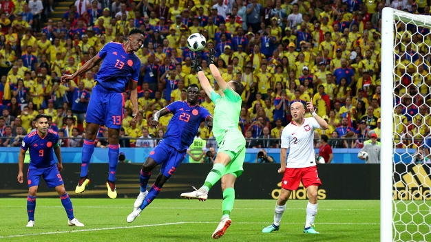 ¡Golazo de cabeza! Y Colombia grita de alegría