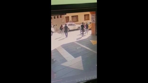 Captado en video fuga de excogresista colombiana