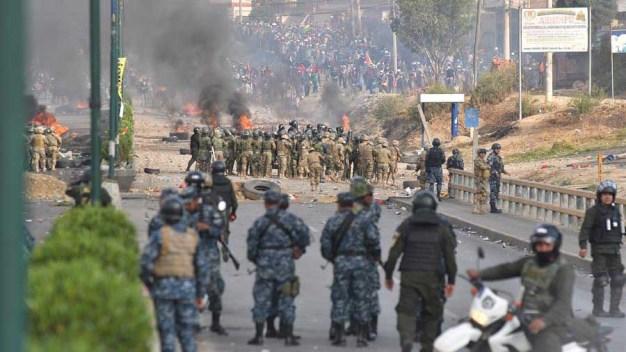 Bolivia: graves enfrentamientos dejan cinco muertos