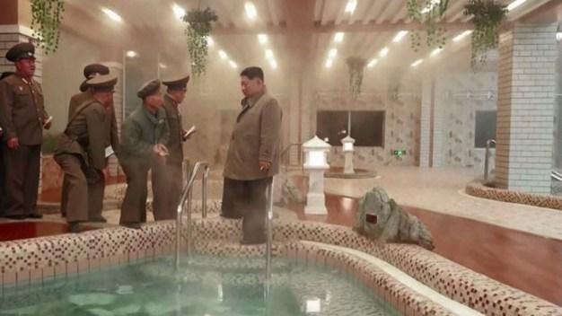 El increíble hotel de aguas termales de Kim Jong un