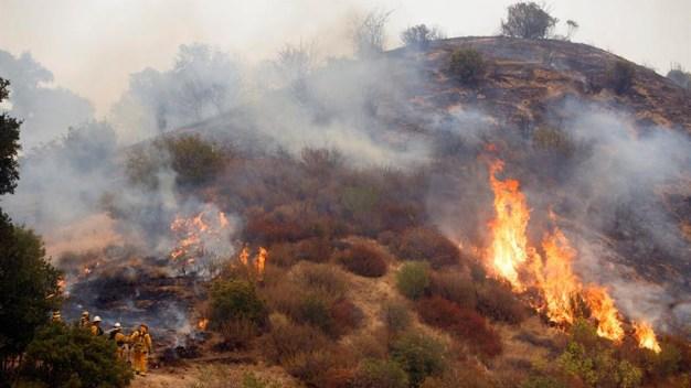 Fotos: Más de mil bomberos combaten incendio que arrasa con todo