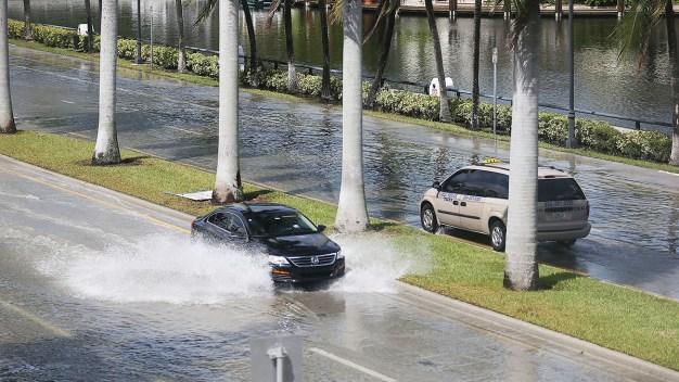 Posibilidad de inundaciones por mareas altas