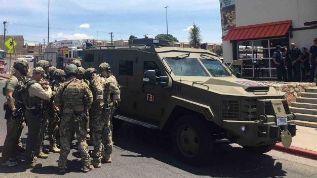 El Paso en alerta máxima y con fuerte presencia policial tras tiroteo