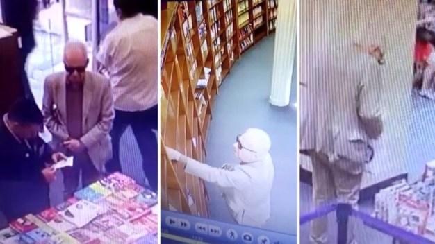 Captan a diplomático en video en medio de presunto robo