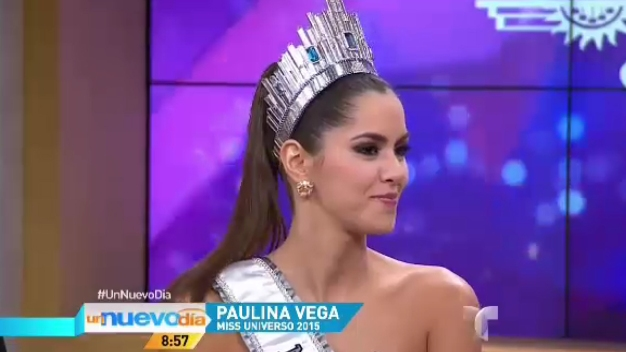 Miss Universo, Paulina Vega, a ritmo de cumbia