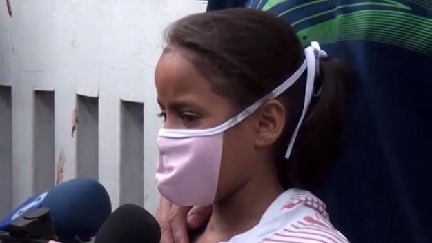 "Conmovedor: niña suplica ""no me dejen morir"""