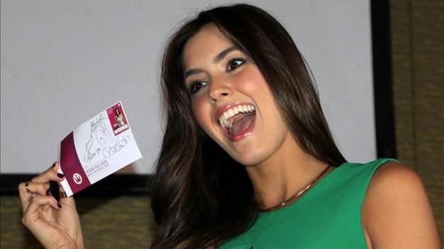 El gobierno colombiano honra a su Miss Universo