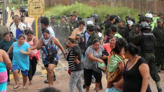 7 muertos por motín en cárcel de máxima peligrosidad